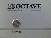 Ten Octave Audio Model LP1 tube preamplifier